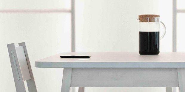 ikea m bel laden smartphone mit w rme auf pc welt. Black Bedroom Furniture Sets. Home Design Ideas