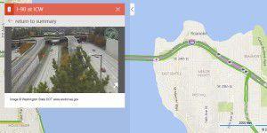 Bing Maps zeigt Verkehrs- aufkommen per Kamera