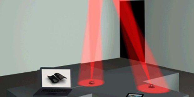 Li-Fi überträgt Daten 100 Mal schneller als Wi-Fi