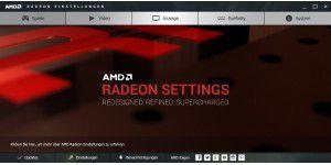 AMD Radeon Crimson Software im Überblick