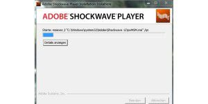 Multimedia-Plugin: Adobe Shockwave Player
