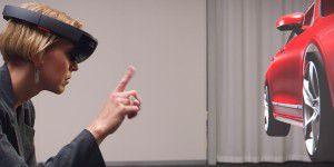 Sprachlos: So soll HoloLens beim Autokauf helfen