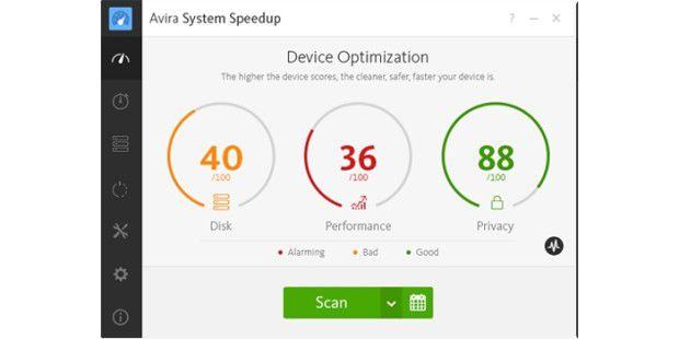 System-Tool: Avira System Speedup