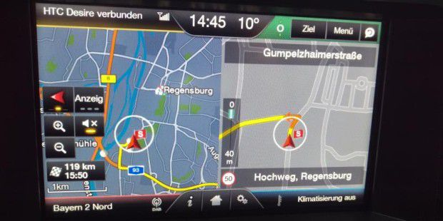Ford Sync 2 im Mustang GT im Test
