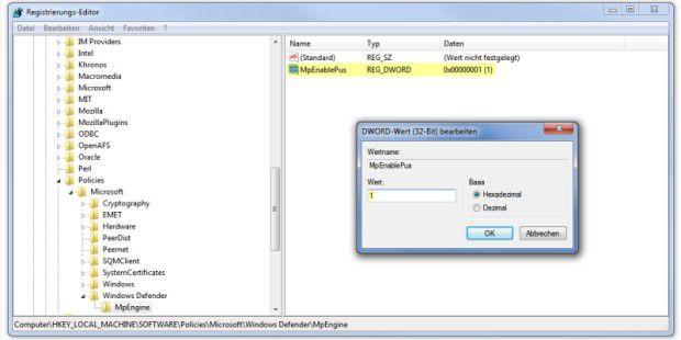 Windows Defender kann jetzt auch Adware abwehren