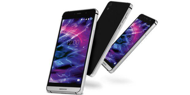 Aldi: Dual-SIM-Smartphone mit 8-Kern-CPU für 199 Euro