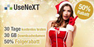Weihnachtsspecial – UseNeXT 30 Tage gratis testen