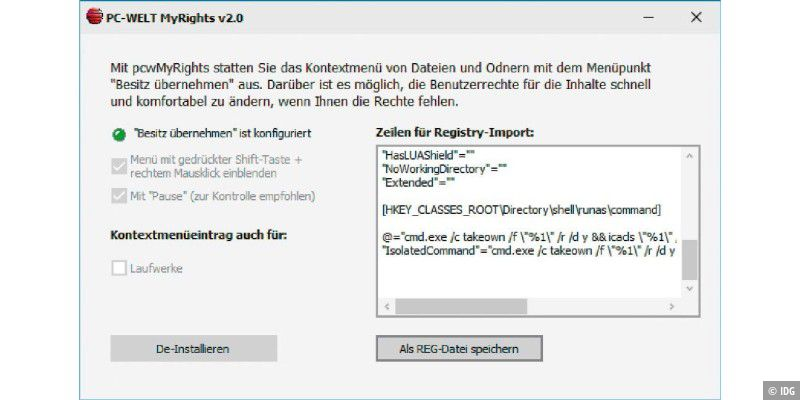 Umgehen registry 10 aktivierung windows How to