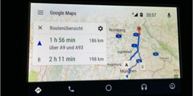 Android Auto im Test: Funktionen, Apps, Anbieter