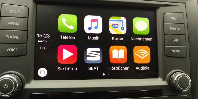 seat full link test carplay android auto und mirrorlink pc welt. Black Bedroom Furniture Sets. Home Design Ideas