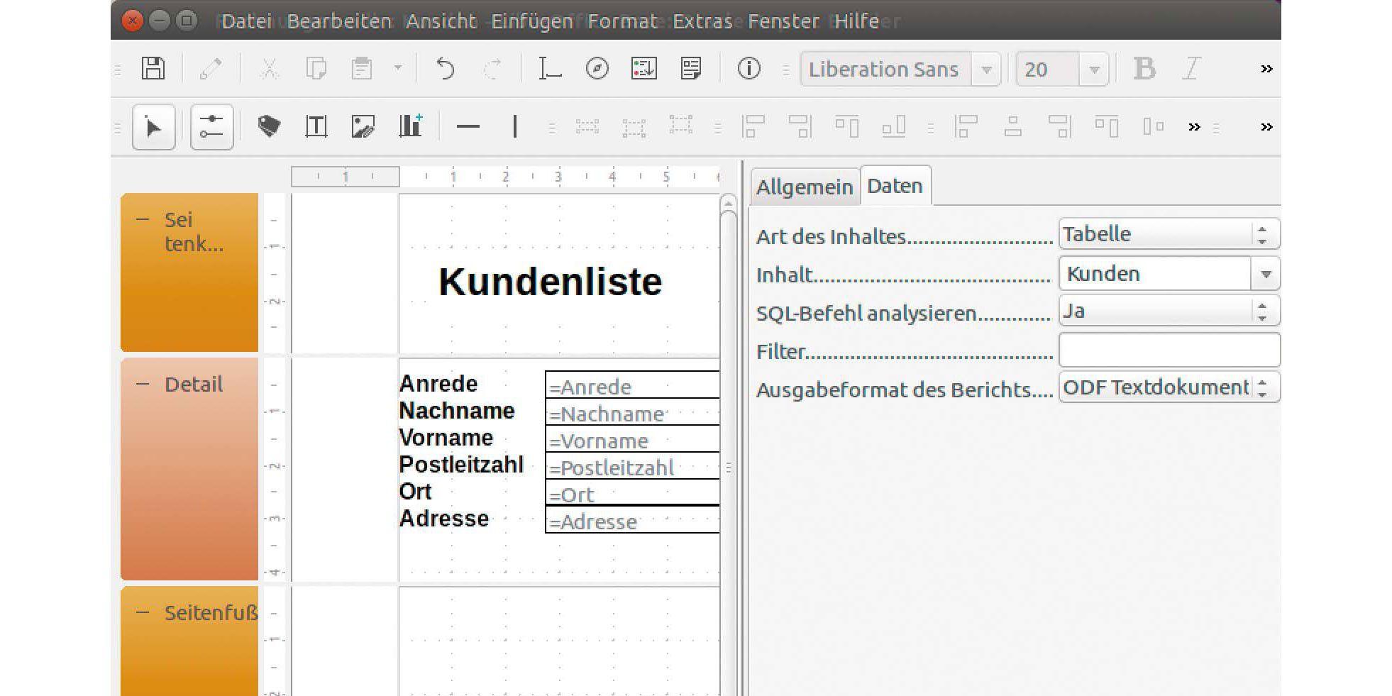So Nutzen Sie Datenbanken Mit Libre Office Base Pc Welt