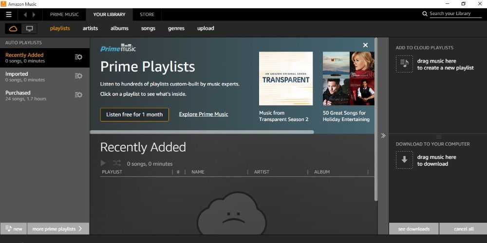 amazon prime music download to pc hack