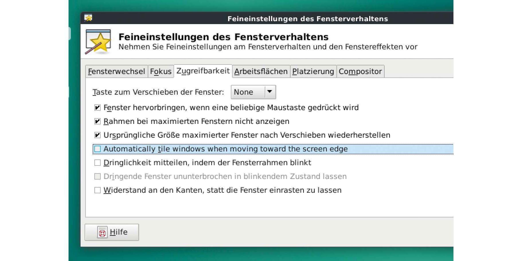 So schalten Sie das automatische Fensterverhalten von XFCE ab - PC-WELT