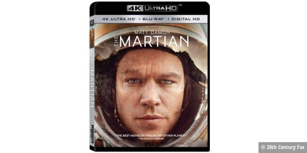 The Martian auf 4k-UHD-Disc
