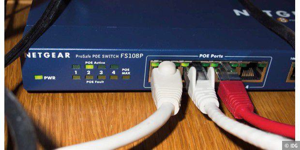 Power over Ethernet - Strom über das LAN-Kabel leiten - PC-WELT