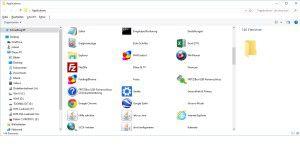 Alle Apps in Windows 8 und 10 auf einen Blick