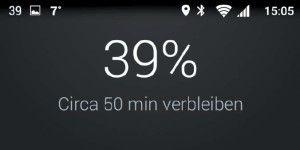 Android: Tuning für die Benachrichtigungsleiste