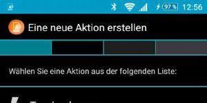 Android: Tuning für die Laustärketasten