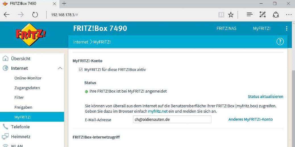 Myfritz Privat Cloud Mit Der Fritzbox Einrichten Pc Welt