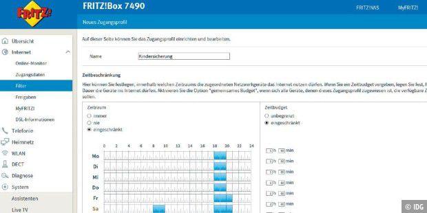 Web-Kindersicherung über die Fritzbox einrichten - PC-WELT
