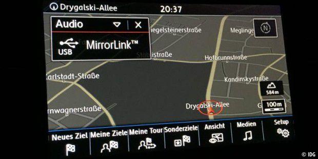 Mirrorlink bringt Android ins Auto: Test im VW Bus, Passat