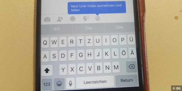 Facebook startet Live-Videos: Streaming in Echtzeit