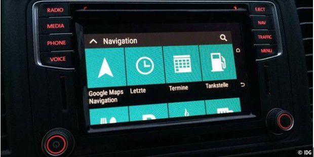 mirrorlink bringt android ins auto test im vw bus passat polo seat skoda toyota pc welt. Black Bedroom Furniture Sets. Home Design Ideas