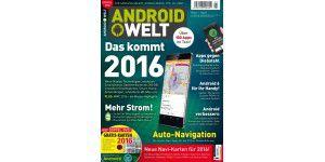 AndroidWelt 2/2016 - jetzt am Kiosk