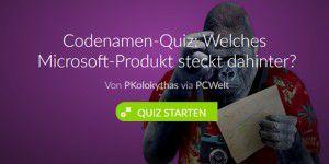Quiz: Wie gut kennen Sie Microsoft?