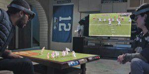 Hololens-Clip: Wohnzimmer wird zum Football-Stadion