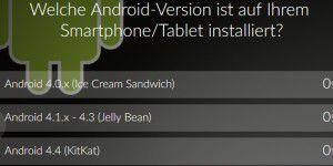 Umfrage: Welche Android-Version nutzen Sie?