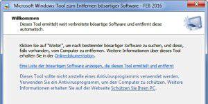 Update für Microsofts Antiviren-Tool