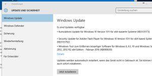 Windows 10: Neues großes Update verfügbar