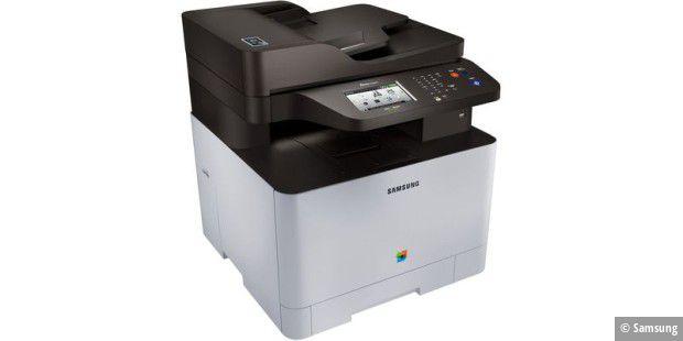 Samsung Xpress C1860FW im Test: Laser-Multifunktionsdrucker mit ...