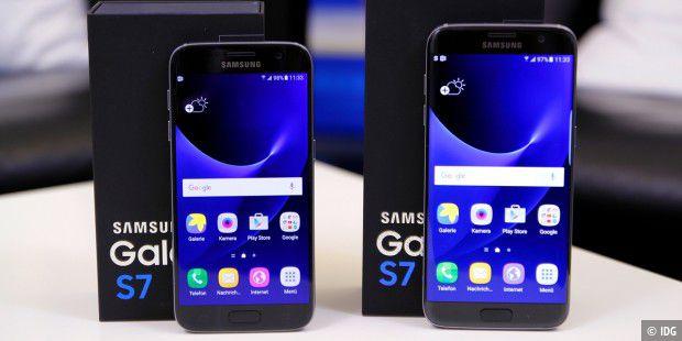 Samsung Galaxy S7 Sd Karte Größe.Samsung Galaxy S7 Und S7 Edge Im Test Pc Welt
