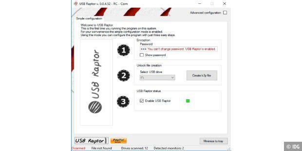 USB-Stick verschlüsseln und als Passwort-Manager nutzen - so
