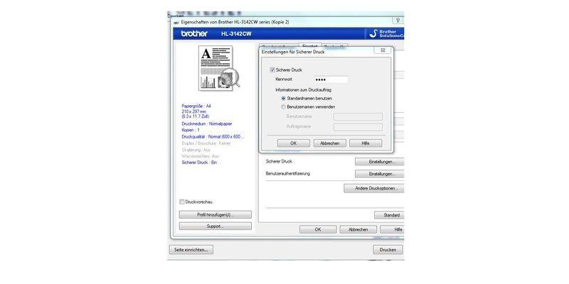 Brother HL-3142CW mit Airprint und Cloudprint: Guter Laserdrucker ...