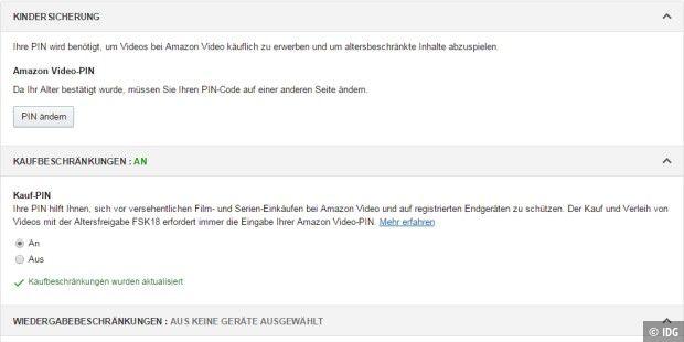 Eingeben Amazon.de/mytv code