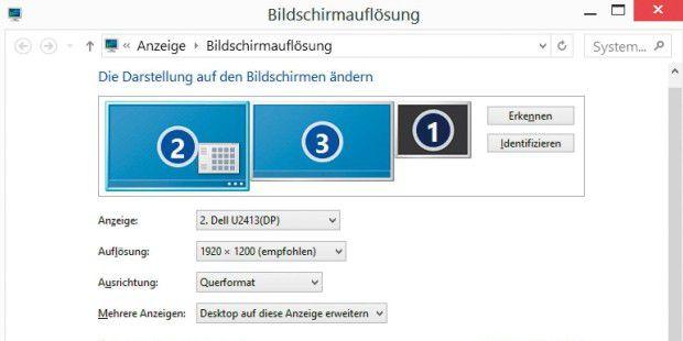 windows 10 erkennt zweiten monitor nicht