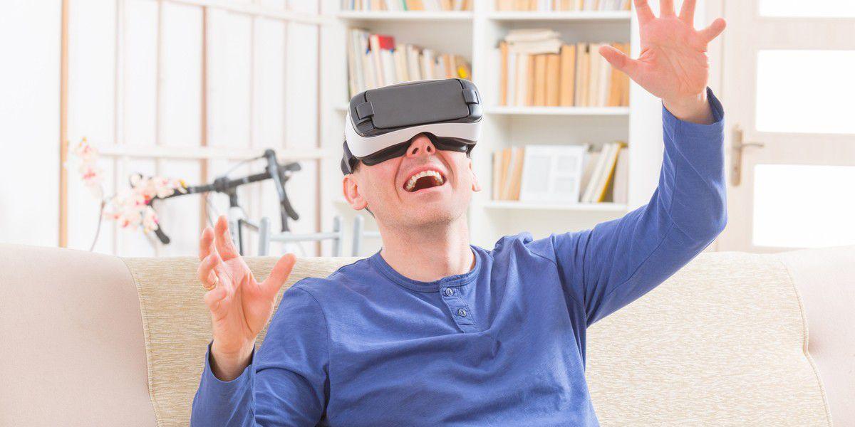 ba85e6fc40e Vergrößern Mit VR-Brillen erleben Sie die virtuelle Realität.