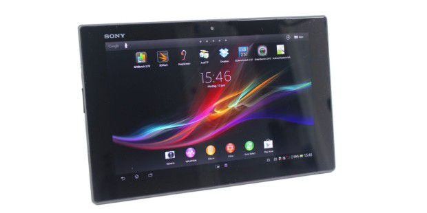 sony xperia tablet z im test pc welt. Black Bedroom Furniture Sets. Home Design Ideas