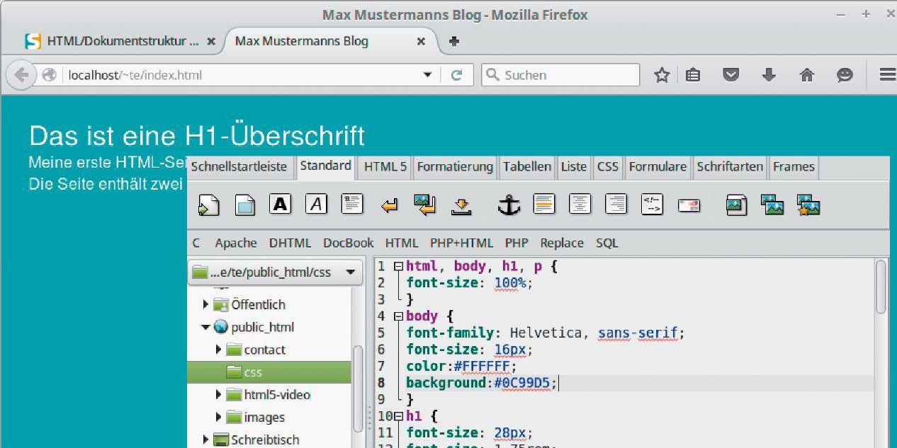 Ohne HTML geht\'s nicht: Eine strukturierte Einführung in den ...