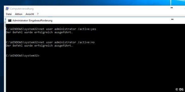 Windows 10 Admin Rechte