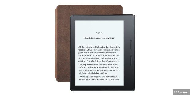 Kindle Oasis: asymetrisch