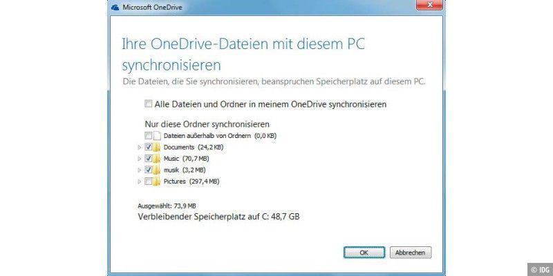 LG PC Suite: Syncrhonisationstalent