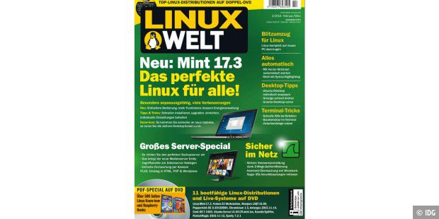 Sonderheft gratis zum Download: LinuxWelt