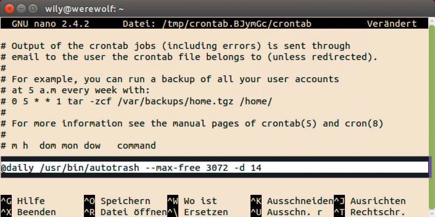Mit Autotrash leeren Sie Ihren Linux-Papierkorb automatisch - PC-WELT