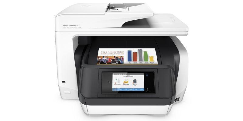 Mehr als neues Design: HP Officejet Pro 8720 im Test - PC-WELT