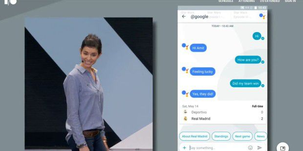 Allo: Google Bot in Aktion