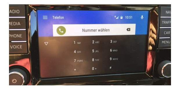 Telefonie in Android Auto